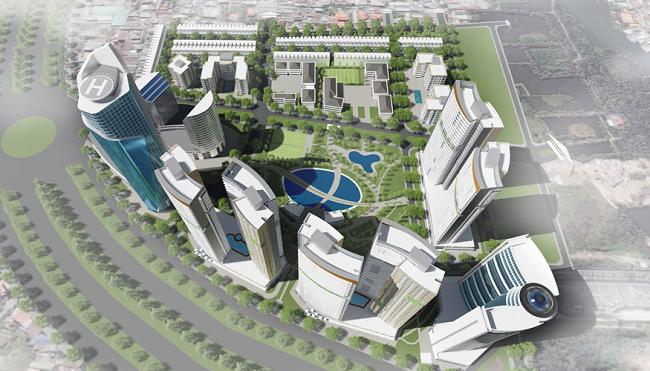 Tập đoàn Hoàn Cầu bán dự án Diamond City cho Công ty Xuân Mai Sài Gòn