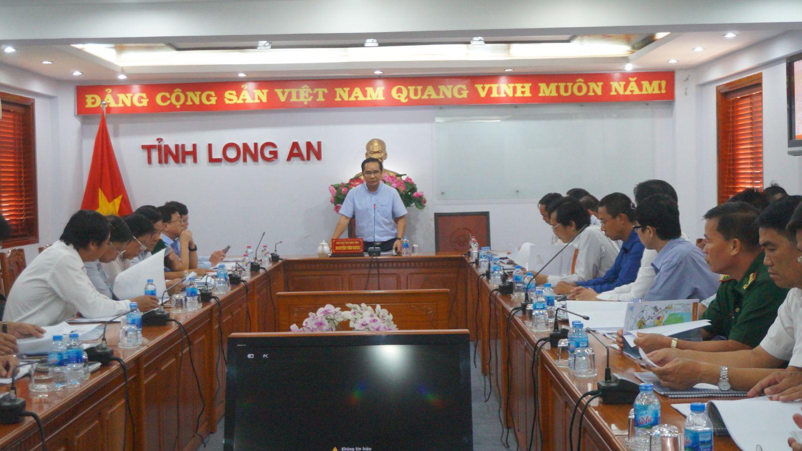 Long An lấy ý kiến về đề xuất thành lập khu kinh tế mở