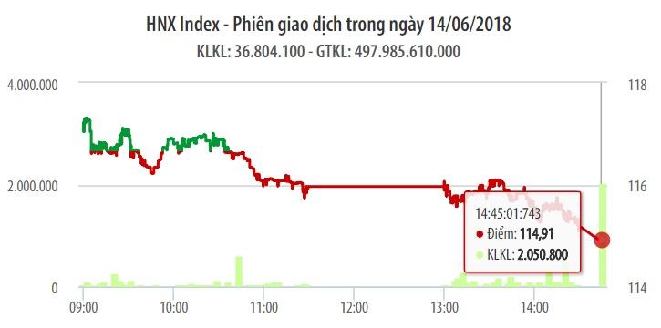 Chứng khoán ngày 14/6: Thiếu trụ đỡ chính, VN-Index bị 'thổi bay' 15 điểm 1