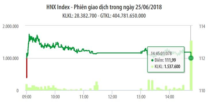 Chứng khoán ngày 25/6: Blue-chips hạ nhiệt khiến VN-Index không giữ được độ cao 1