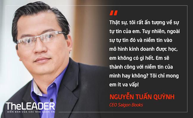 CEO Saigon Books Nguyễn Tuấn Quỳnh: Để khởi nghiệp bớt… đau thương!