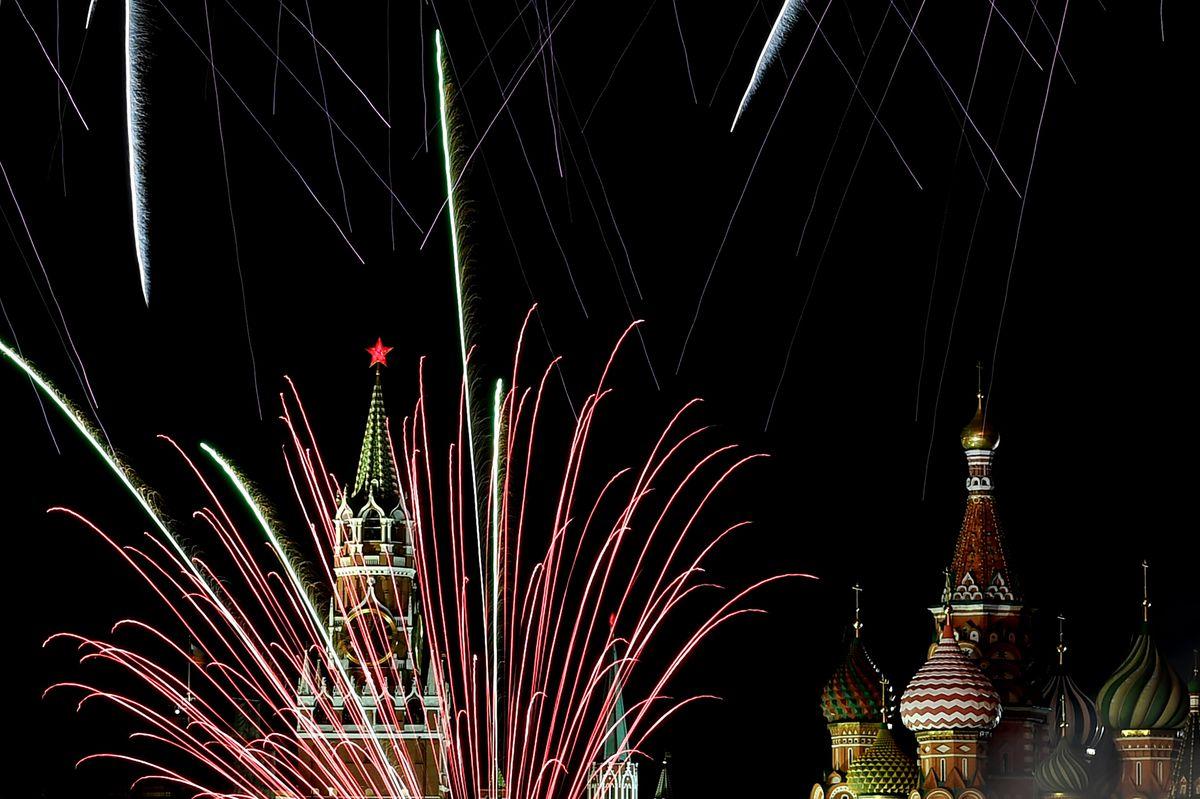 Pháo hoa và ánh sáng đón chào năm mới 2018 trên khắp thế giới 5
