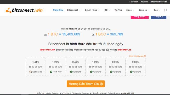 BitConnect bị đình chỉ hoạt động