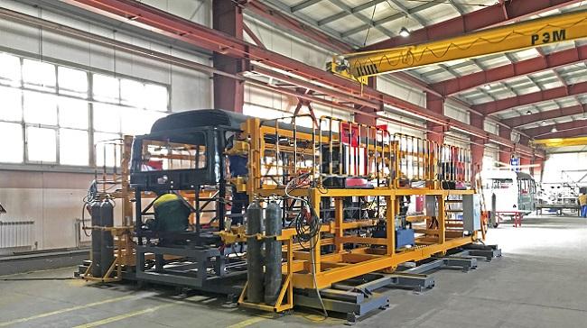 Lần đầu tiên Thaco chuyển giao công nghệ sản xuất xe bus ra nước ngoài