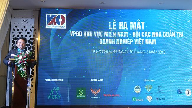 Ra mắt VPĐD miền Nam của Hội Các nhà quản trị Việt Nam