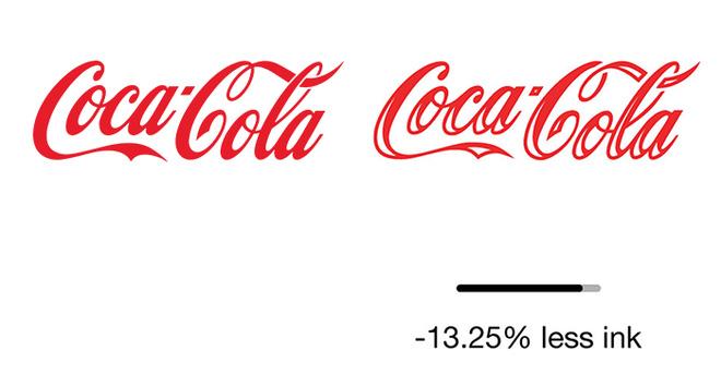 Dùng ít mực hơn để in logo giúp bảo vệ môi trường  3