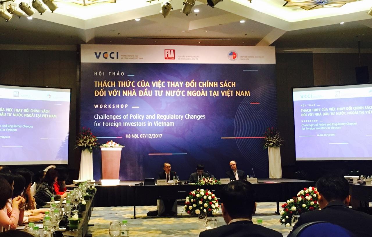 Đầu tư FDI Việt Nam: Rủi ro thị trường không lớn bằng rủi ro chính sách