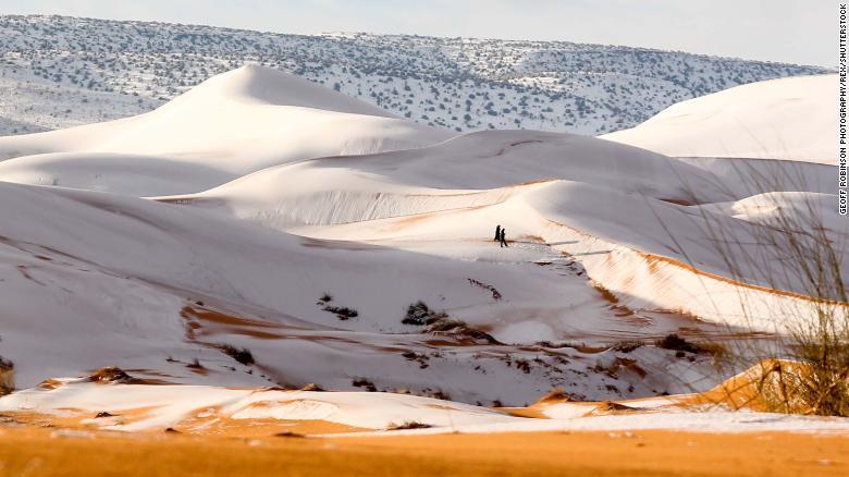Tuyết rơi ở nơi nóng nhất thế giới 2