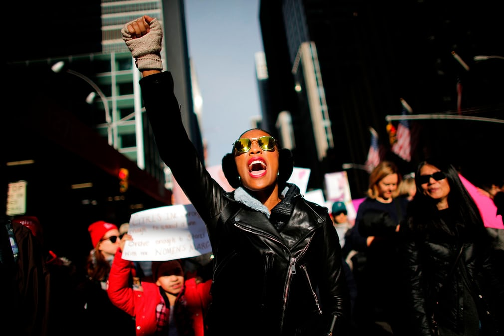 Tròn 1 năm ông Trump nhậm chức: Chính phủ đóng cửa, phụ nữ biểu tình 4