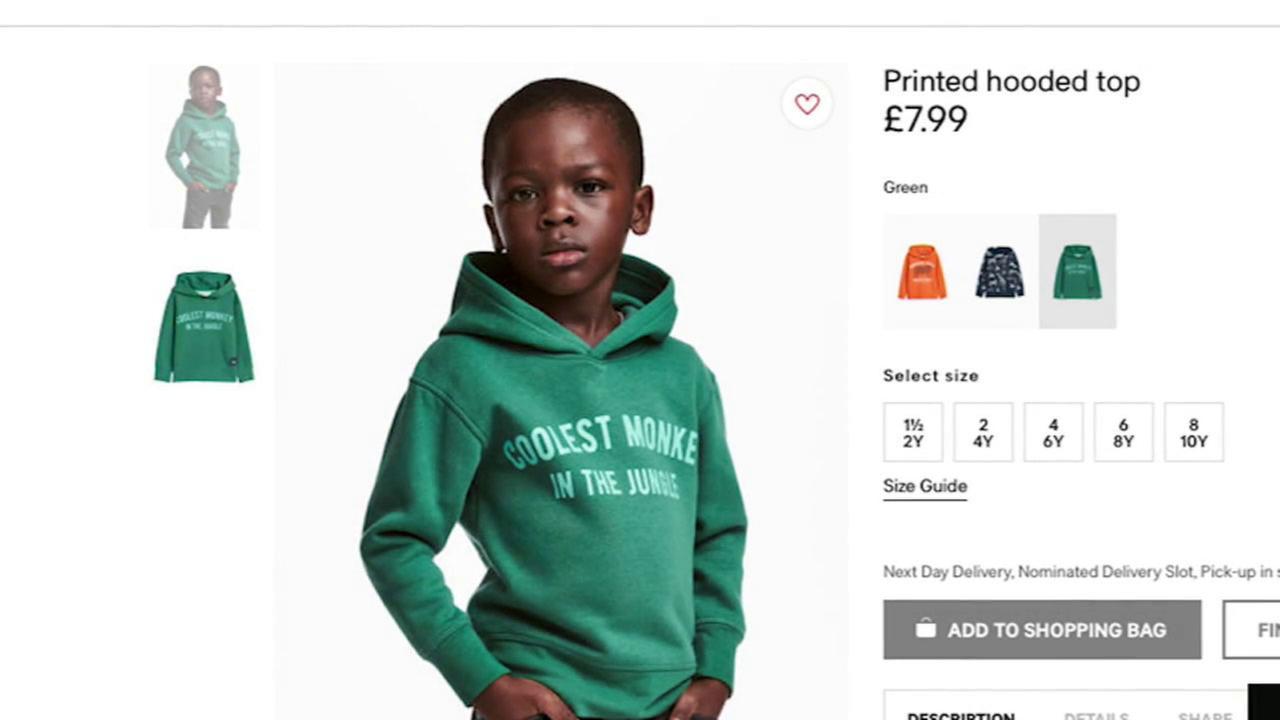 H&M lên tiếng xin lỗi vì quảng cáo phân biệt chủng tộc