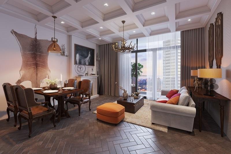 Lý giải sức hút của loại căn hộ cao cấp diện tích nhỏ ven Hồ Tây