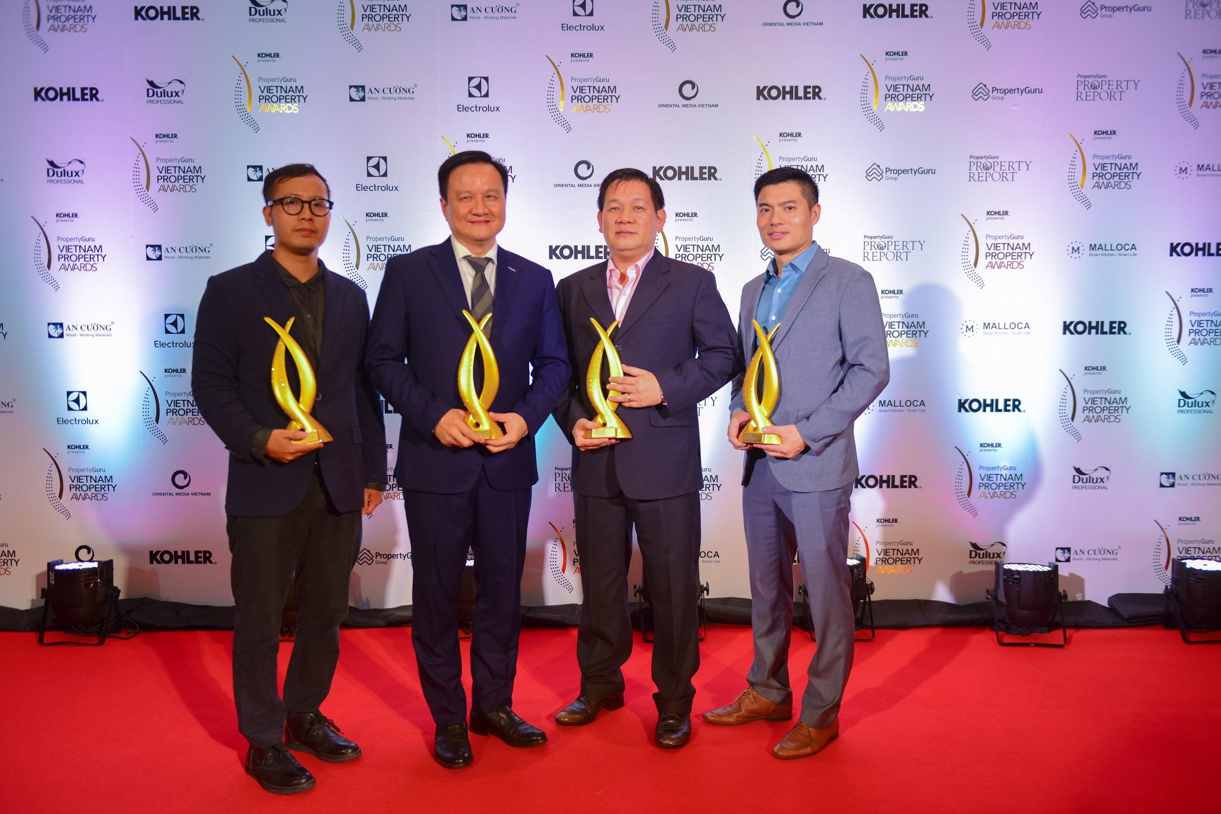 MIKGroup chiến thắng vang dội tại PropertyGuru Vietnam Property Awards 2018