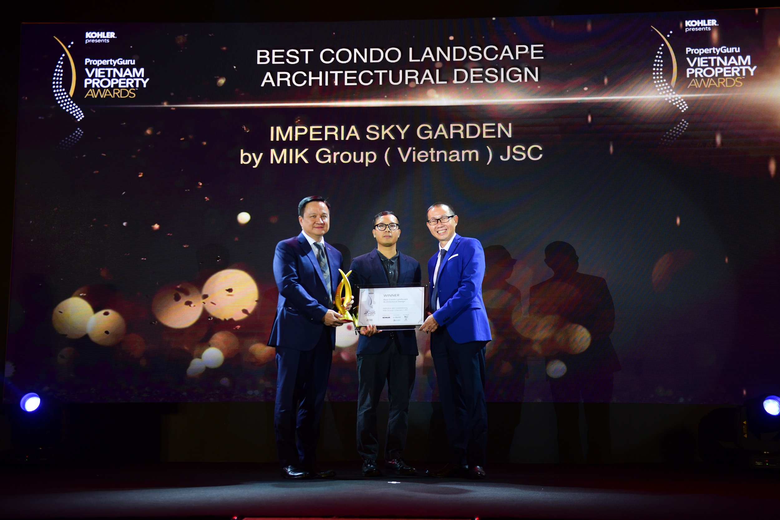 MIKGroup chiến thắng vang dội tại PropertyGuru Vietnam Property Awards 2018 2