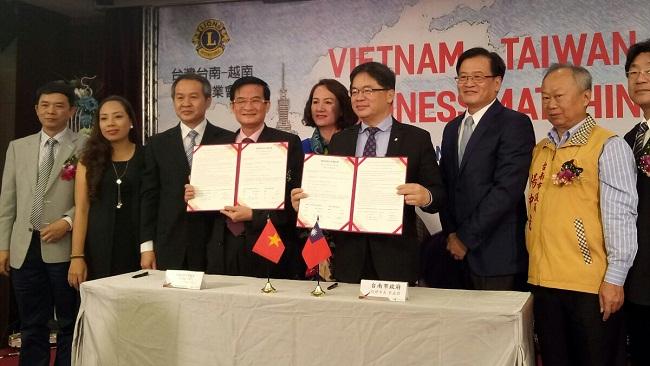 VACD ký kết ghi nhớ hợp tác với thành phố Đài Nam