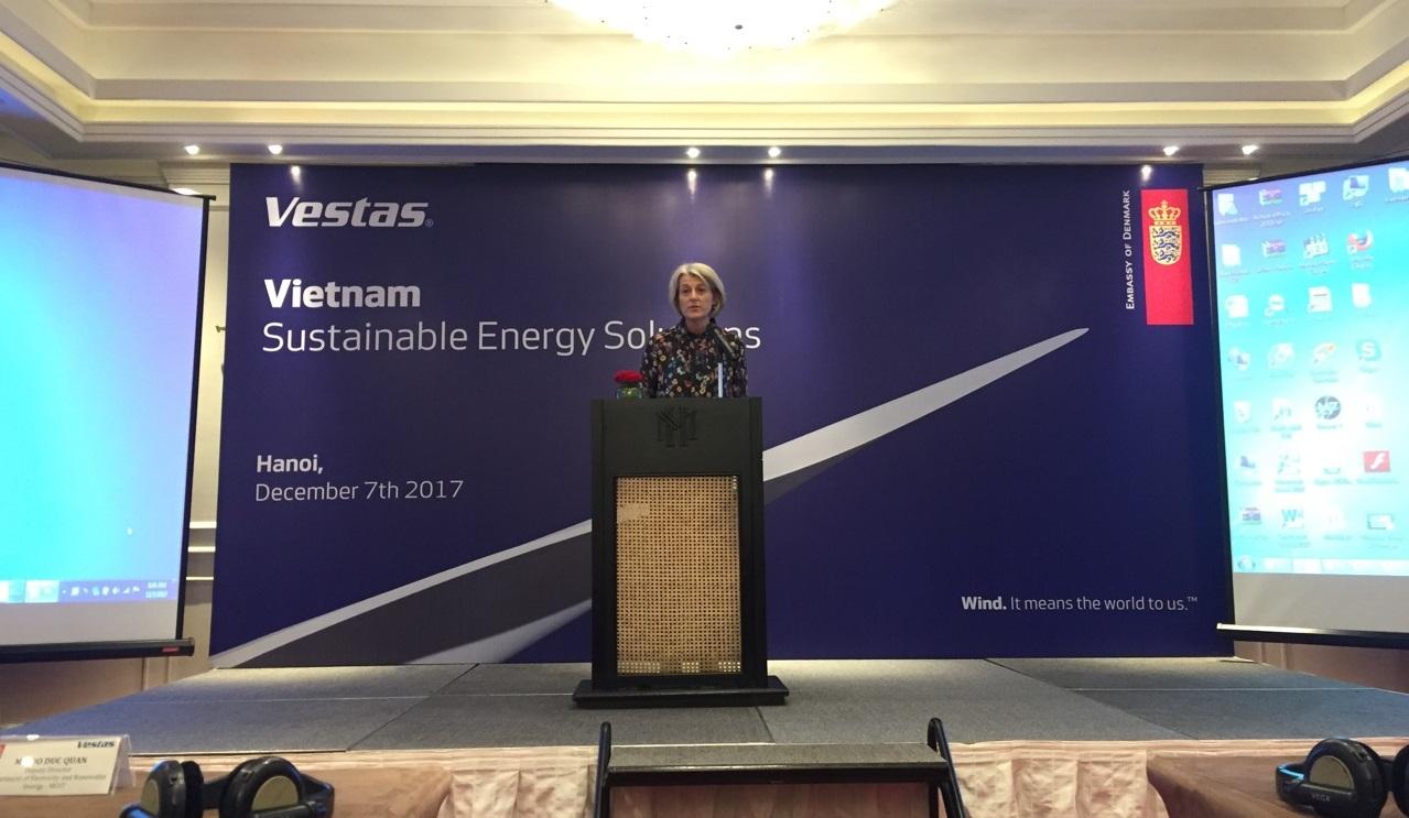 Vetas ASP bắt tay Tân Hoàn Cầu xây dựng chuỗi trang trại điện gió tại Quảng Trị