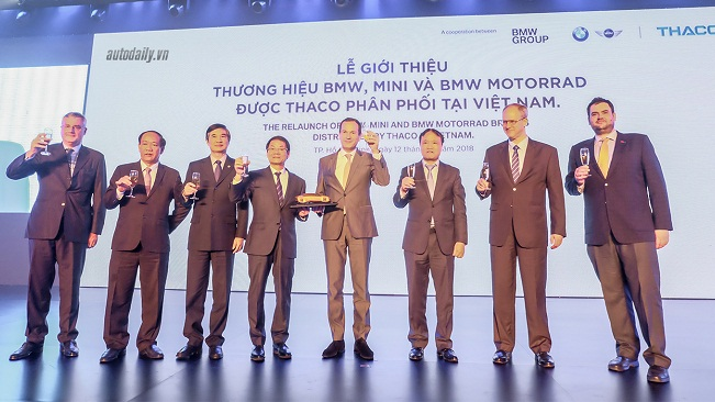 THACO và cuộc chơi lớn mang tên BMW và MINI