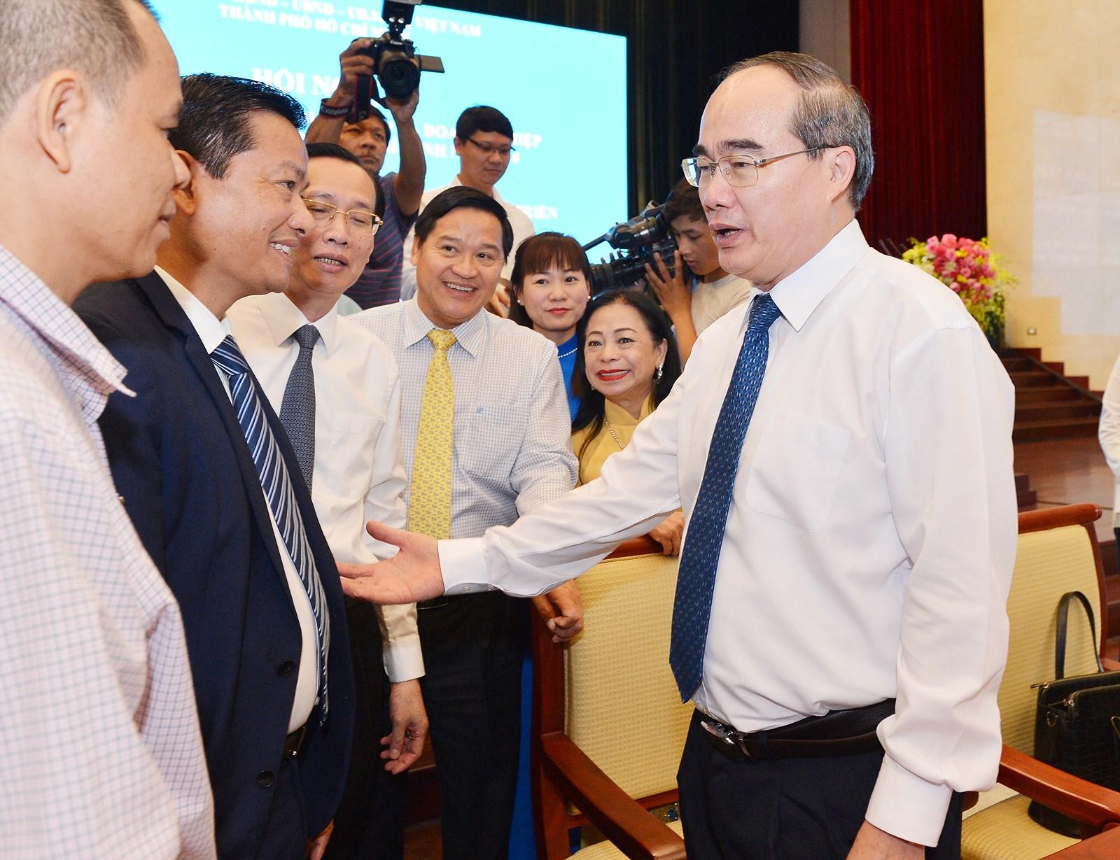 Ông Nguyễn Thiện Nhân nêu 4 định hướng chiến lược tạo đột phá cho TP. HCM