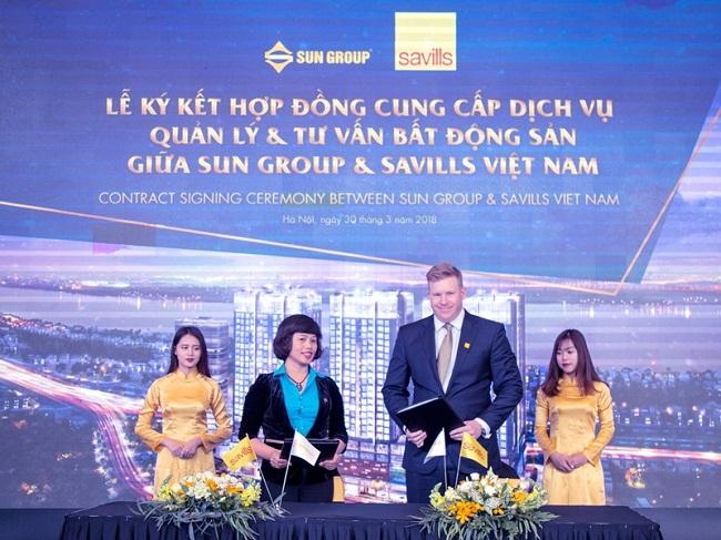 Tập đoàn Sun Group chỉ định Savills Việt Nam quản lý tổ hợp 5 sao gần Hồ Gươm