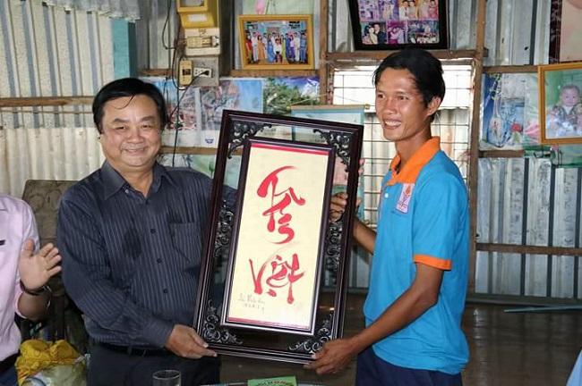 Võ Văn Tiếng, chàng ngựa ô can trường cùng hạt gạo Tâm Việt