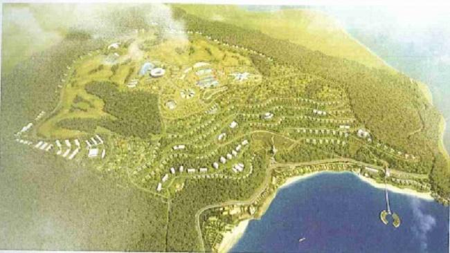 Lộ diện những siêu dự án nghỉ dưỡng khu vực núi Cù Hin, Khánh Hòa