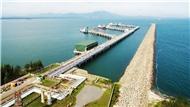 Khu vực cầu cảng của Nhà máy lọc dầu Dung Quất