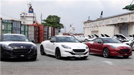 Hơn 2.500 chiếc ô tô nhập khẩu về Việt Nam tuần qua