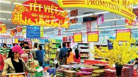 Hàng Việt chiếm tỉ trọng cao trong hàng hóa phục vụ Tết