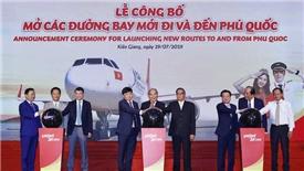 Vietjet mở thêm 4 đường bay mới đến Phú Quốc