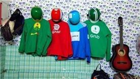 Grab, Go-Viet và FastGo đang giành nhau miếng bánh 500 triệu USD