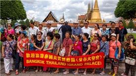 Du lịch Thái Lan bắt đầu điêu đứng vì ít khách Trung Quốc