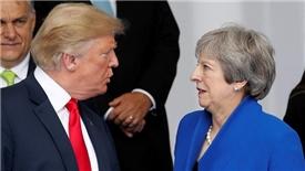 Ông Trump 'hắt gáo nước lạnh' vào kế hoạch Brexit