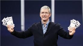 iPhone bán chậm không thể ngăn cổ phiếu Apple gia tăng
