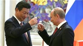 Nga – Trung 'hâm nóng' tình cảm sau chiến lược của Mỹ