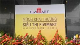 Tập đoàn Vingroup mua lại hệ thống siêu thị Fivimart