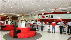 MSB đạt gần 500 tỷ đồng lợi nhuận sau 9 tháng