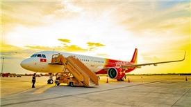 Doanh thu Vietjet tăng mạnh nhờ mở rộng đường bay quốc tế