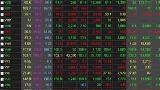 Chứng khoán ngày 17/8: Lực cầu yếu, VN-Index không giữ được mốc 970 điểm