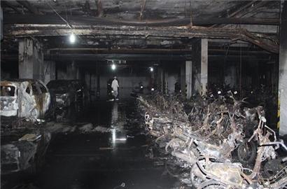 Tầng hầm chung cư: 'Quả bom cháy' nguy hiểm đang bị xem nhẹ