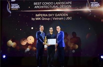 Imperia Sky Garden: Dự án có thiết kế cảnh quan xuất sắc nhất
