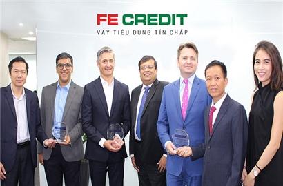 FE Credit nhận 3 giải thưởng châu Á về thẻ và thanh toán điện tử quốc tế