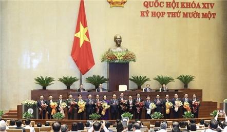 Chân dung 2 tân phó thủ tướng và 12 bộ trưởng của Chính phủ mới