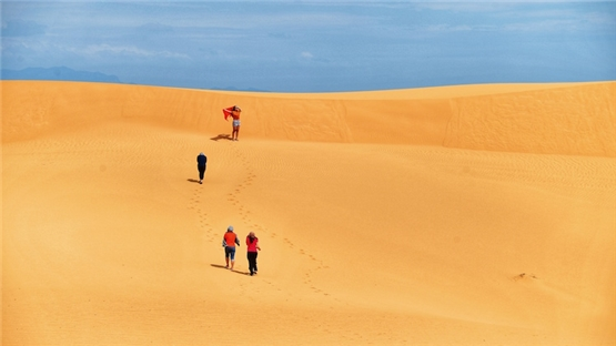 Ninh Thuận đẹp quên lối về