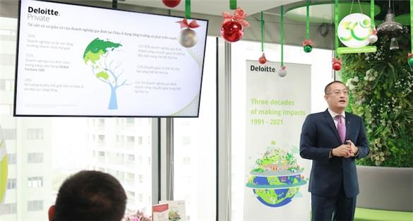 Từ mối lương duyên với Quảng Ngãi đến ra mắt Deloitte Private