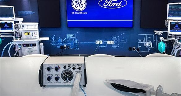 Ford sản xuất 50.000 máy thở trong 100 ngày tại Mỹ