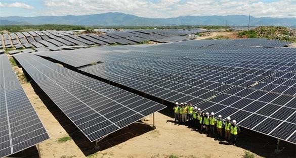 Ngân hàng Thái Lan rót vốn cho một dự án điện mặt trời ở Ninh Thuận