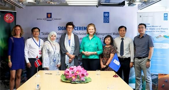 Chính phủ Na Uy và UNDP hỗ trợ thí điểm kinh tế tuần hoàn tại Bình Định