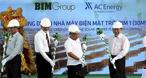 BIM Group sắp vận hành nhà máy điện mặt trời lớn nhất Đông Nam Á