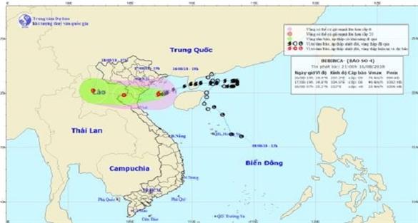 Tạm ngừng khai thác nhiều chuyến bay do ảnh hưởng bão số 4 Bebinca