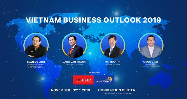 TheLEADER tổ chức hội thảo Vietnam Business Outlook 2019