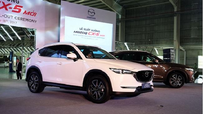 Một số dòng xe ô tô bất ngờ tăng giá trước Tết nguyên đán 2018
